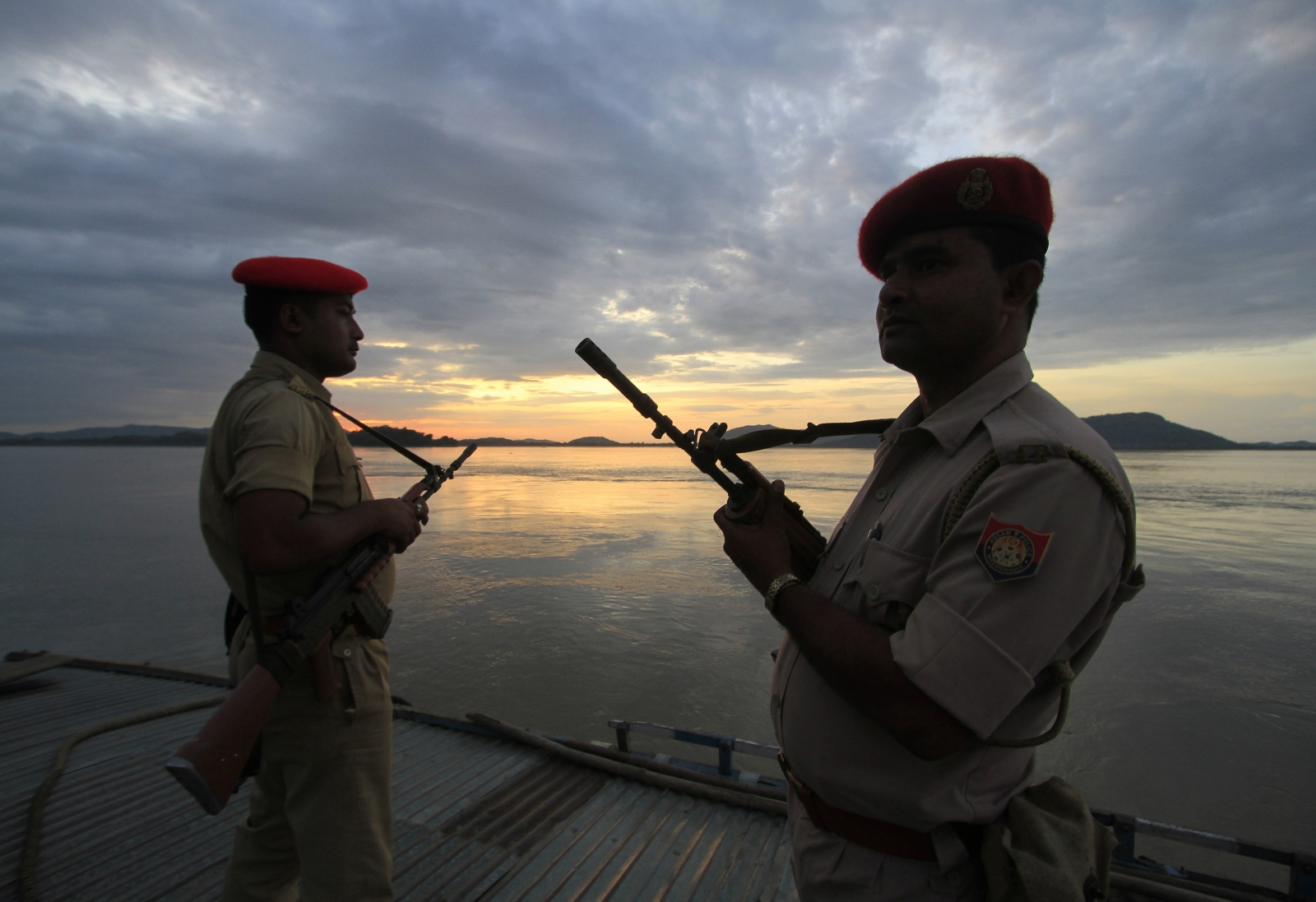 India China security