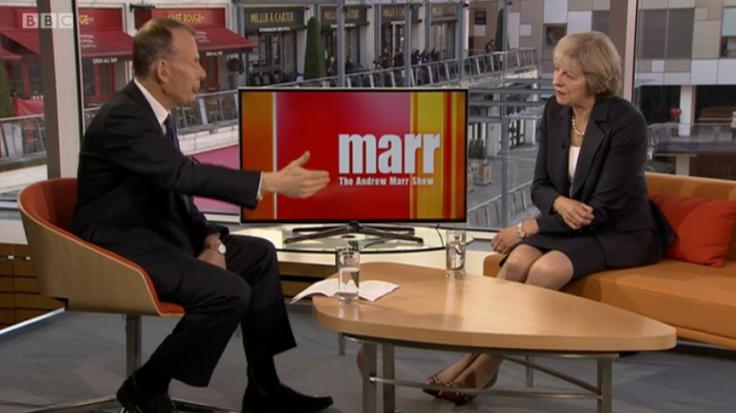 Theresa May Andrew Marr