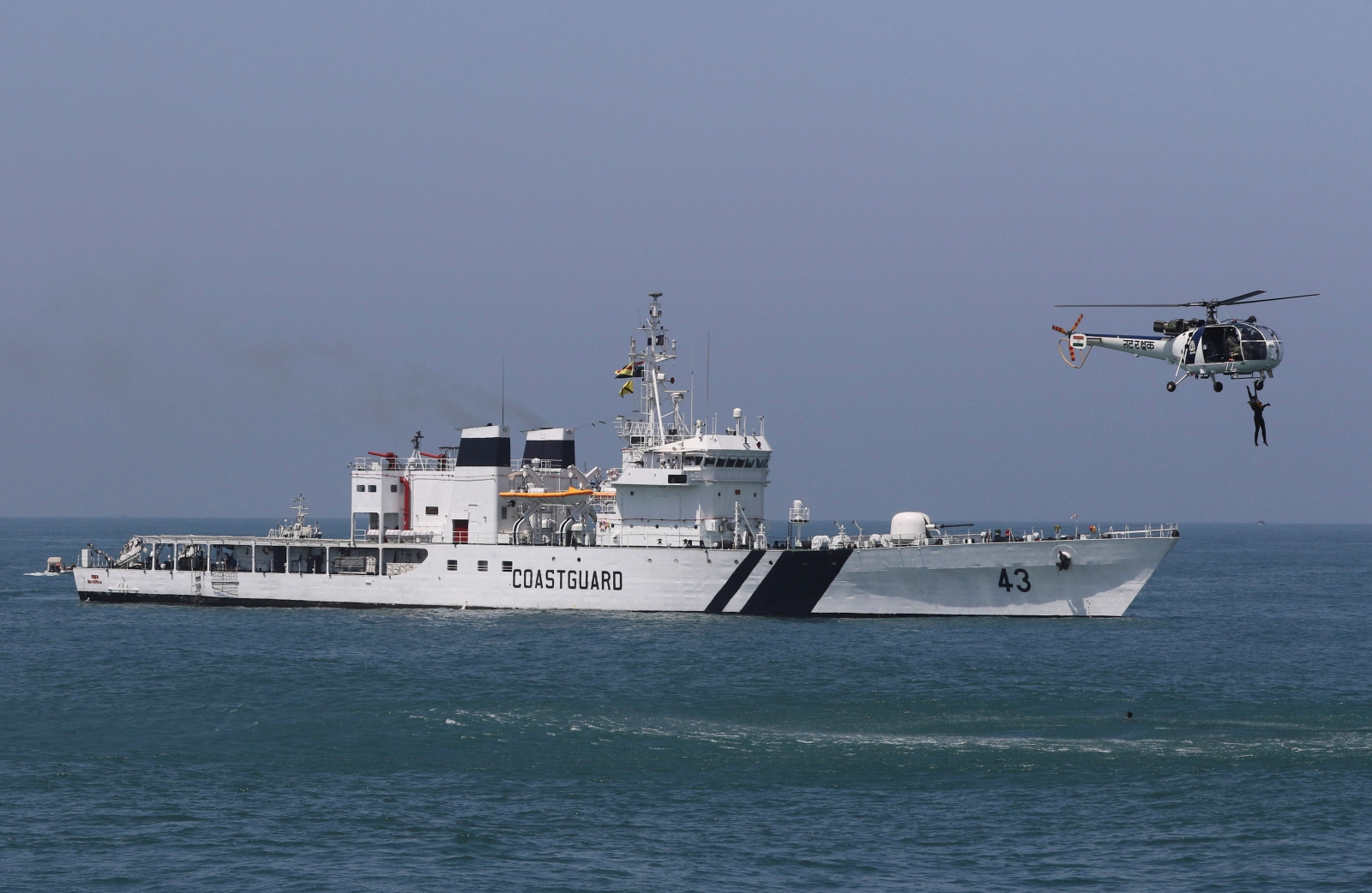 India Coast Guard Pakistan boat