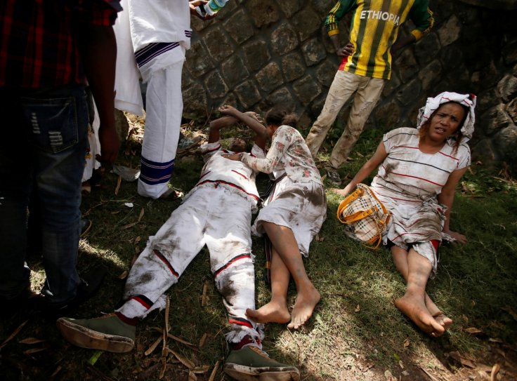 Injured Oromia protesters