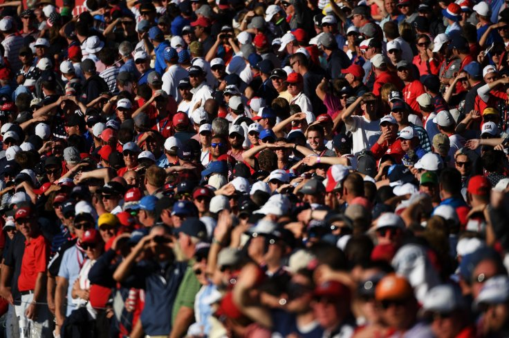 Ryder Cup crowd