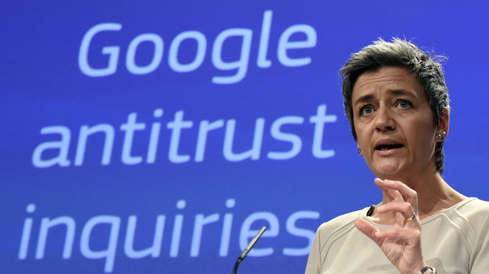 EU to stop Google's anti-competitive practices