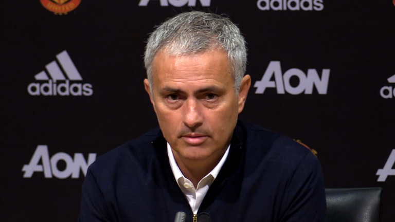 Manchester United manager Jose Mourinho analyses draw with Stoke
