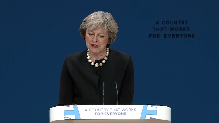 Conservative Autumn Party Conference 2016: Theresa May's first Brexit speech