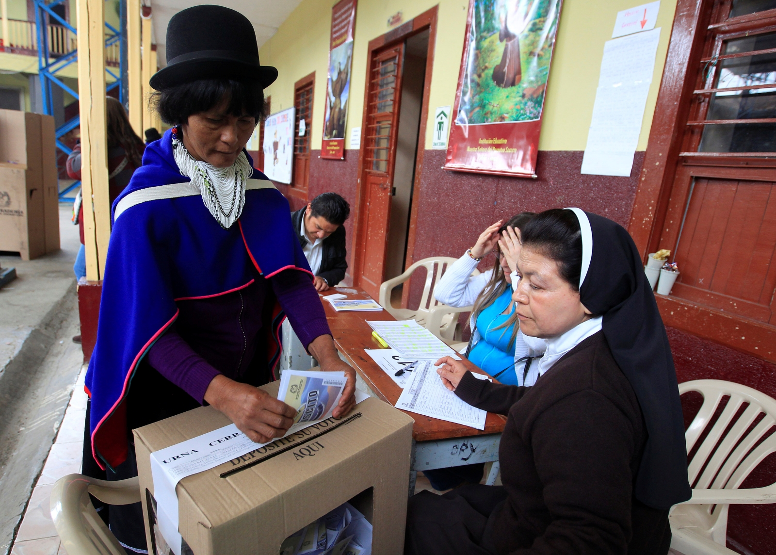 Colombian referendum