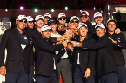 United States win Ryder Cup