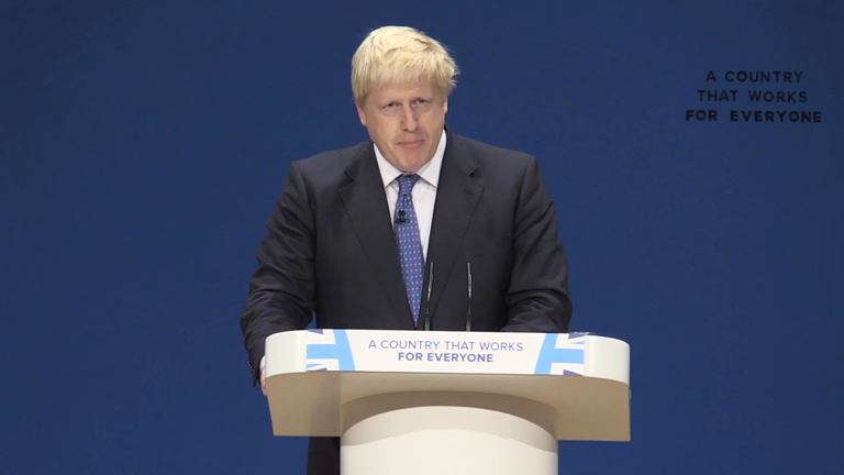 Boris Johnson says bombings in Aleppo makes it 'impossible' for peace talks to resume