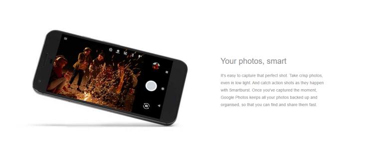 Pixel phone photos