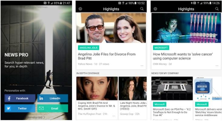NewsPro app