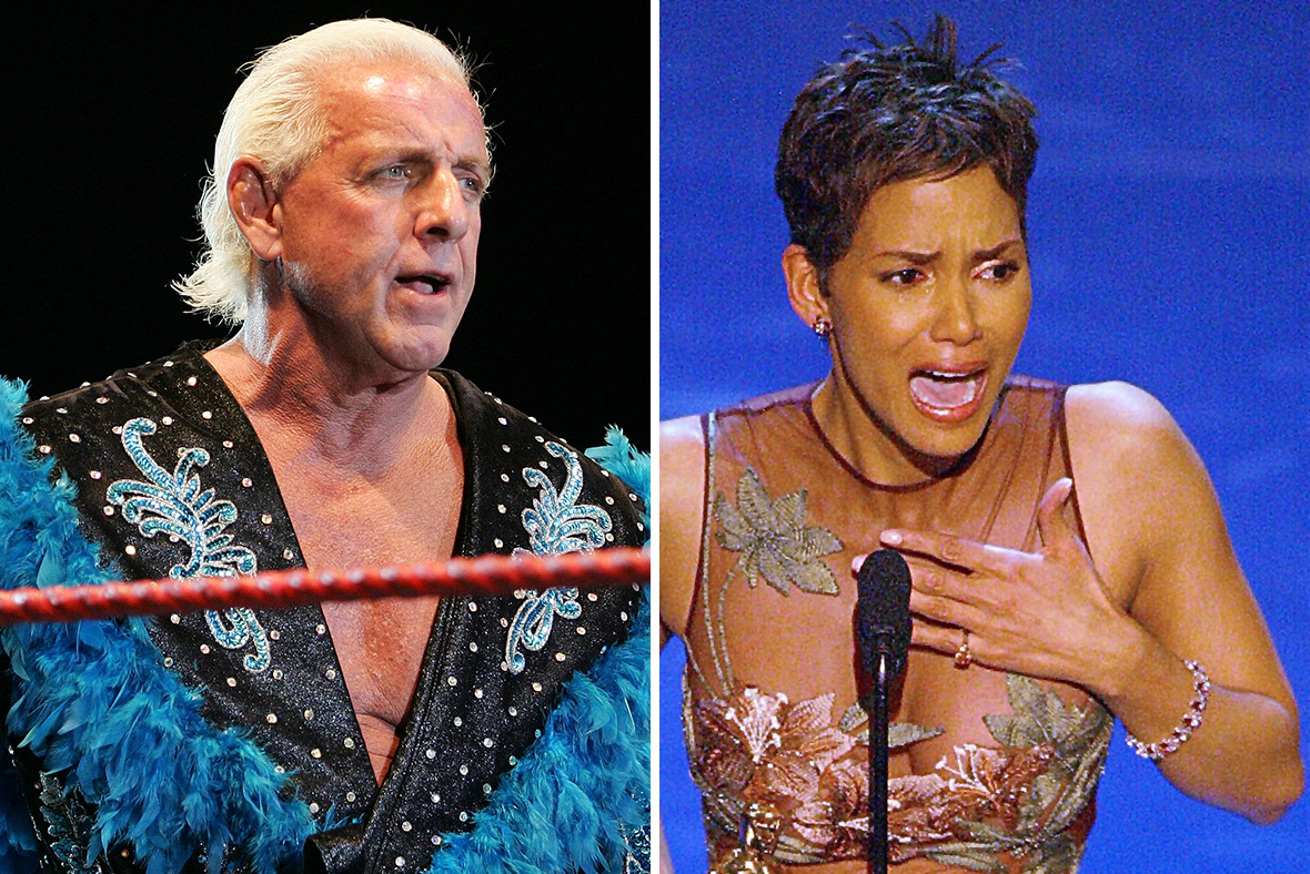 Ric Flair Halle Berry