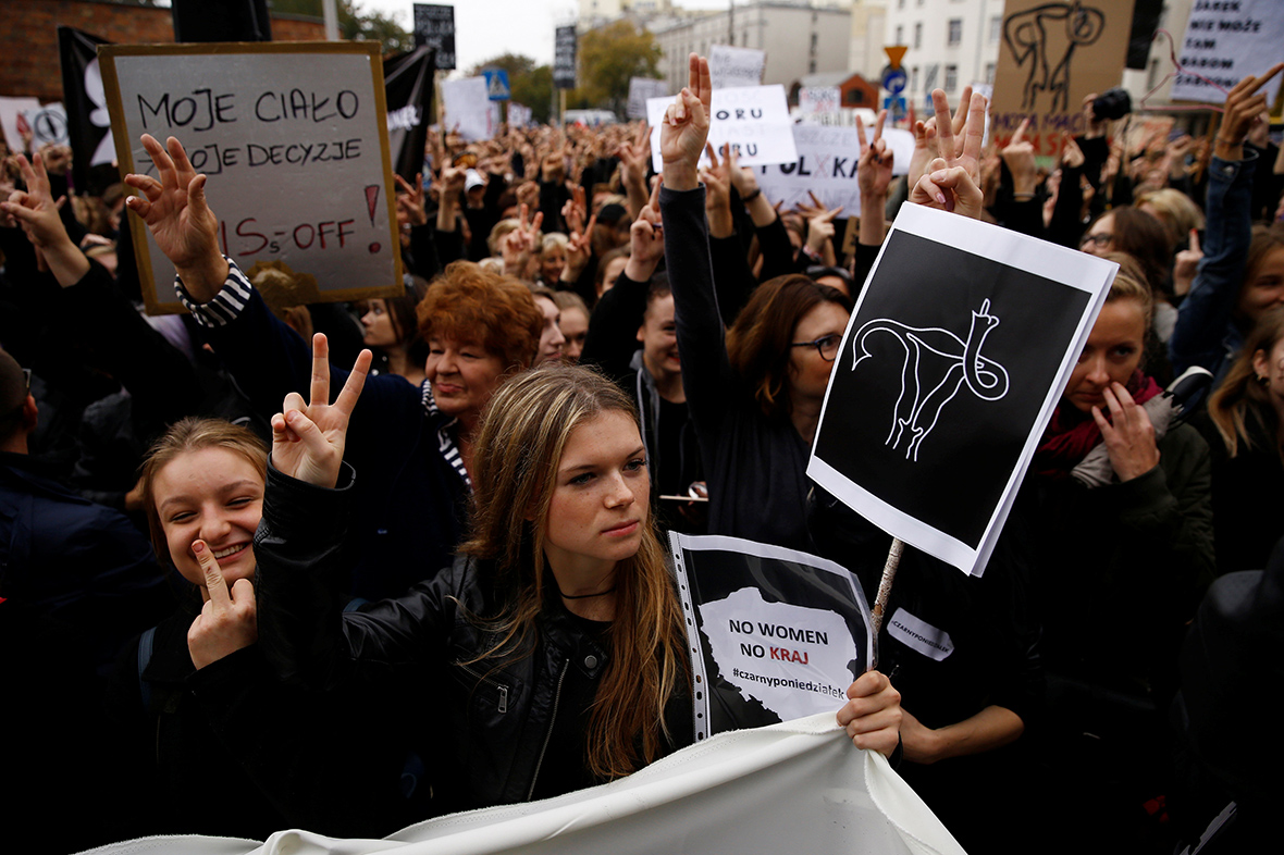 Abortion ban protest