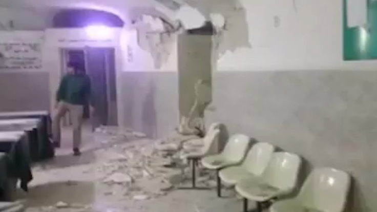Syrian cave hospital destroyed by 'bunker buster' missiles