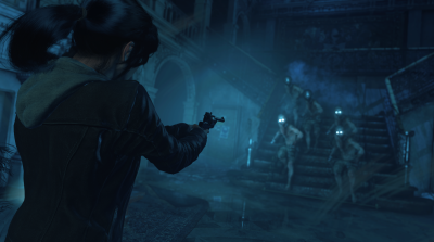 Rise Tomb Raider PS4 Laras Nightmare