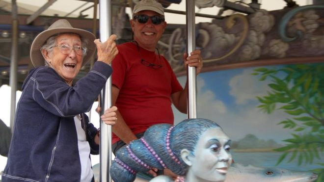 Norma Bauerschmidt took a year-long road trip rather than have cancer treatment.