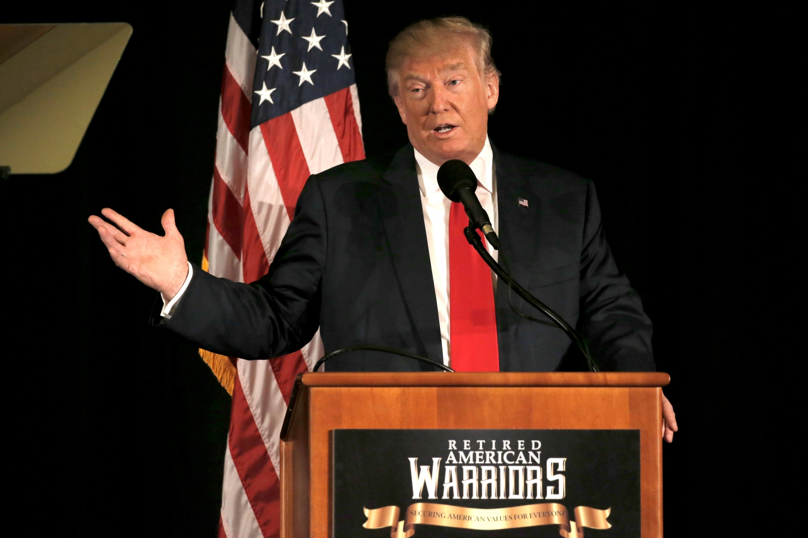 Did Donald Trump just insult veterans?