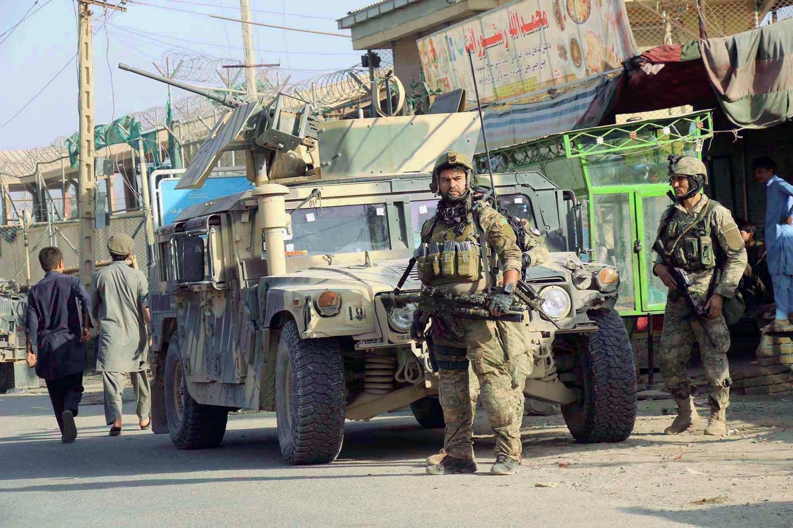 Afghan Taliban  defeated in Kunduz