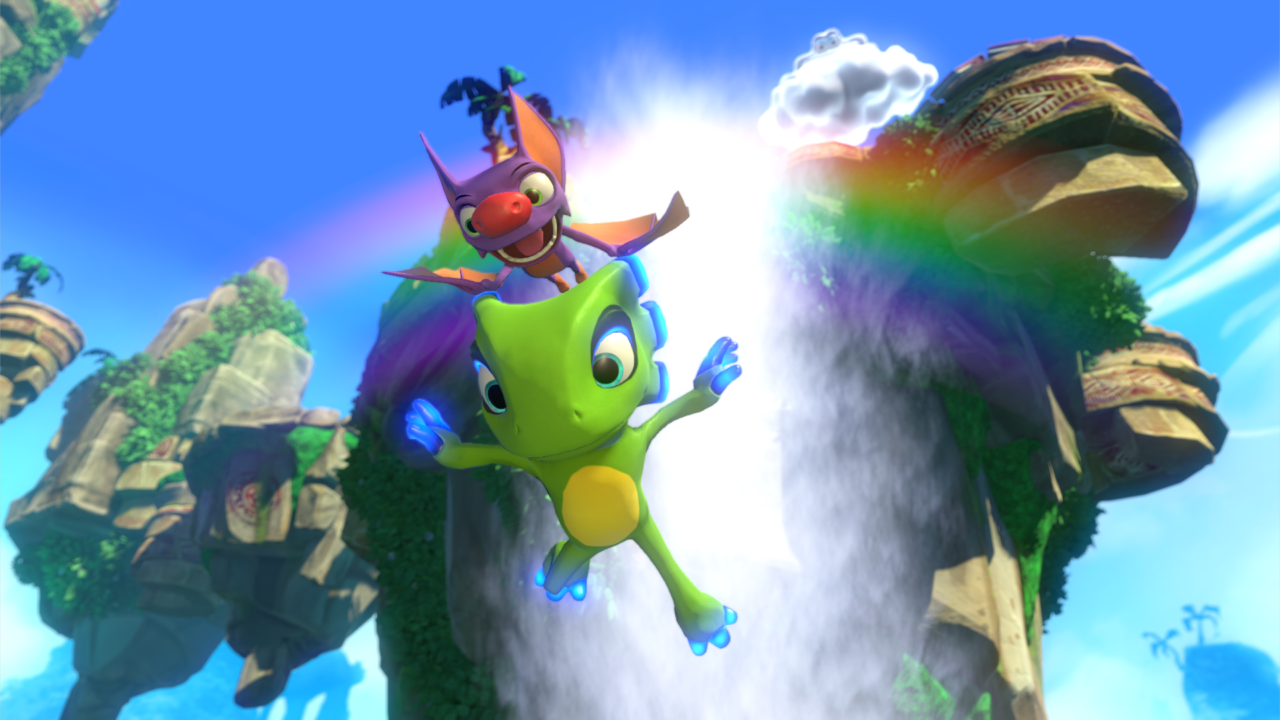 Yooka-Laylee PS4 Xbox One Wii U