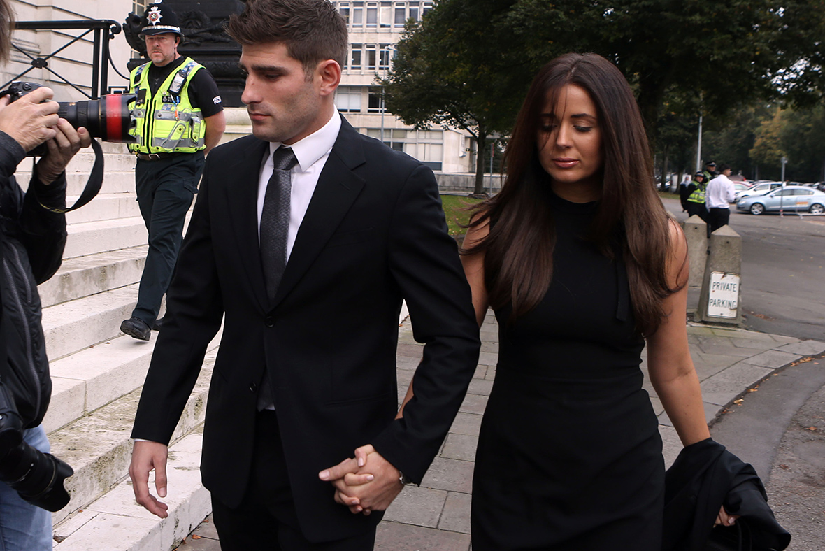 Footballer Ched Evans back in court for 'rape' retrial