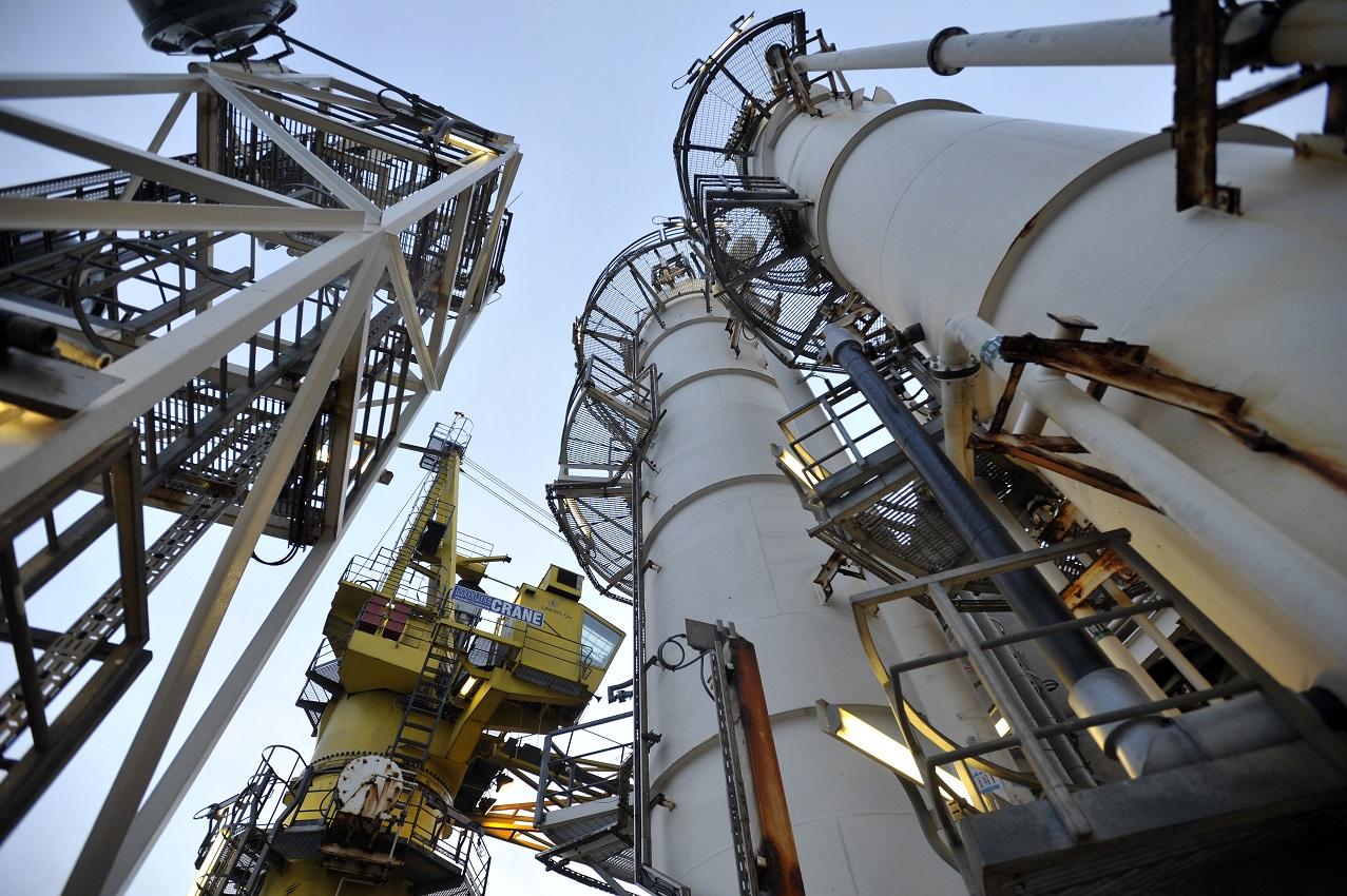 BP North Sea oil spill