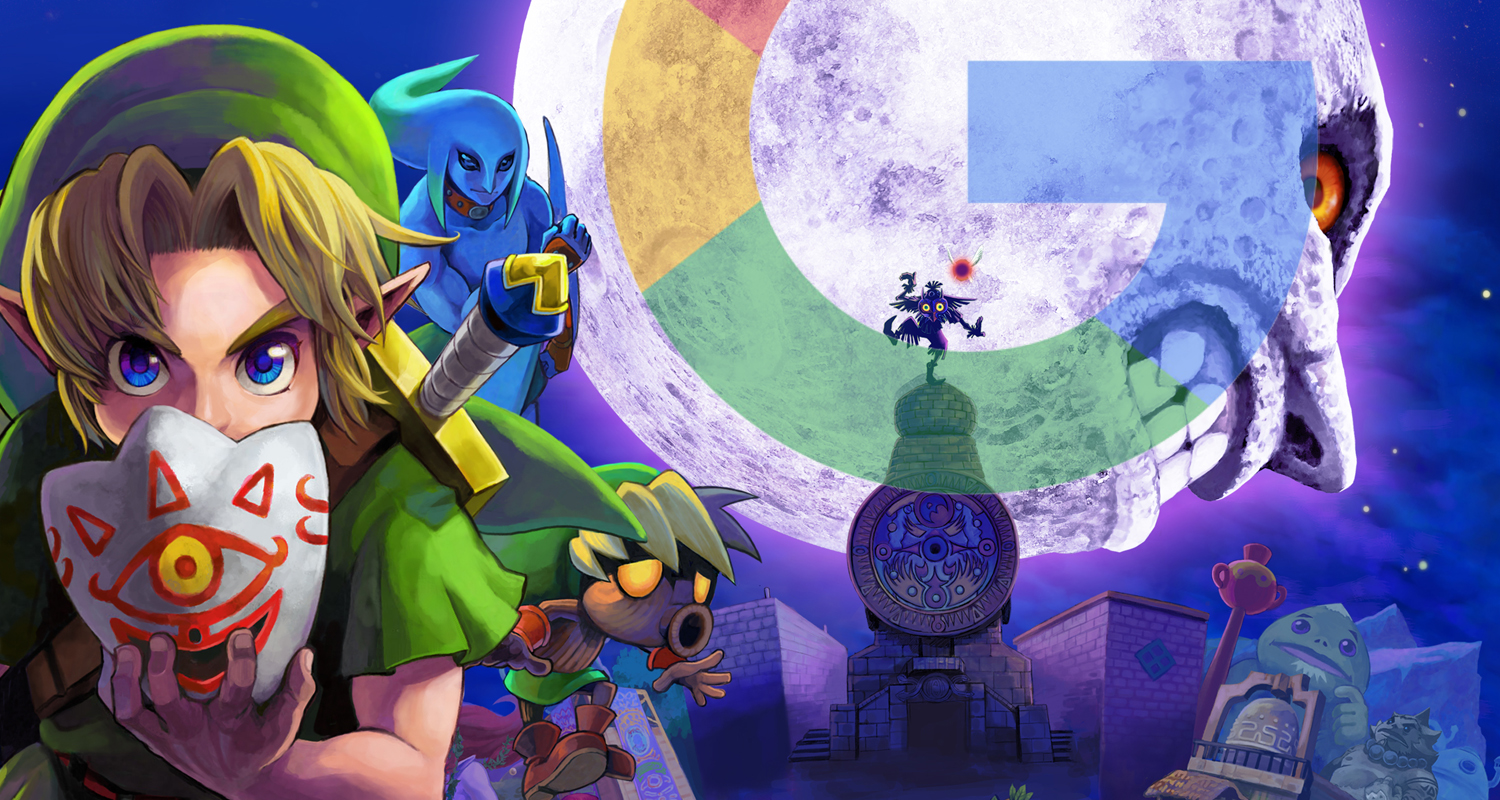 Legend of Zelda Google Pixel Majora's Mask
