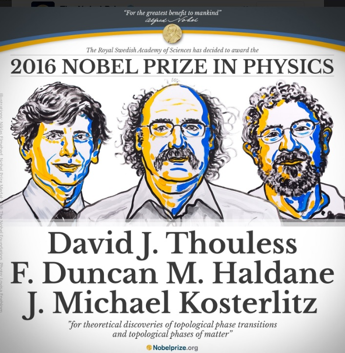 Trio Wins Nobel Prize in Physics for Work On