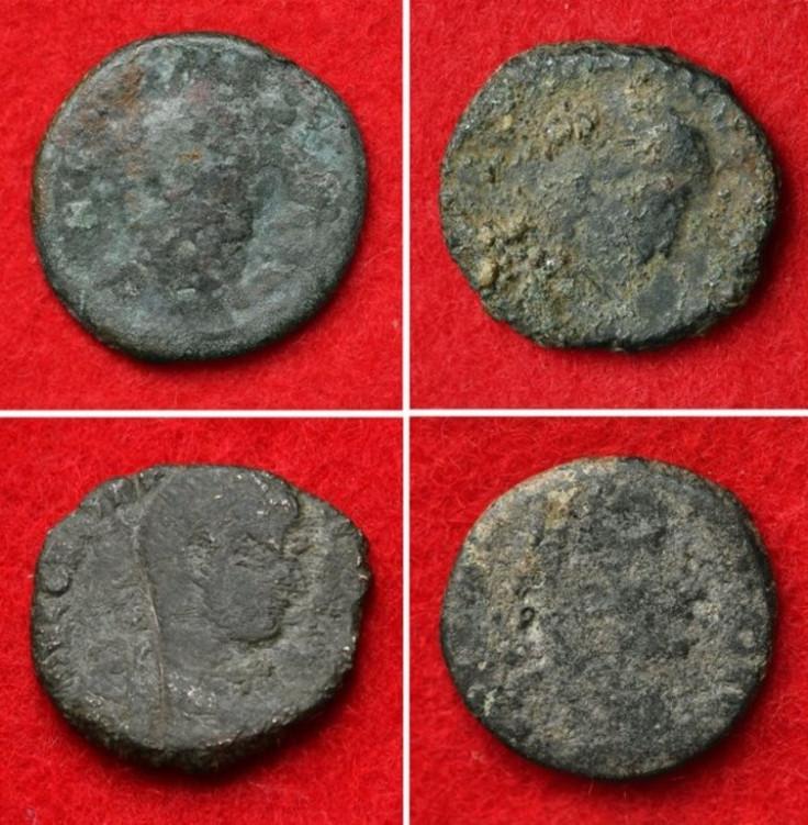 roman coins Katsuren Castle Okinawa