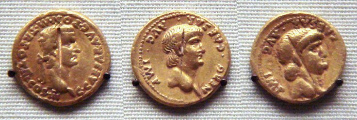 roman coins in india