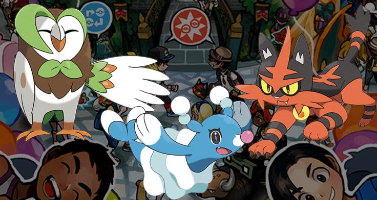 pokemon sun and moon starter evolutions revealed