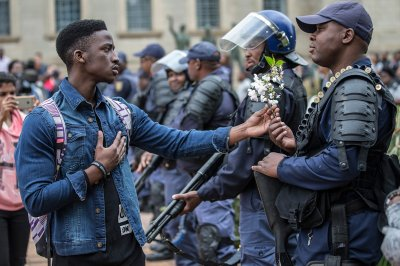 South Africa university fees protests