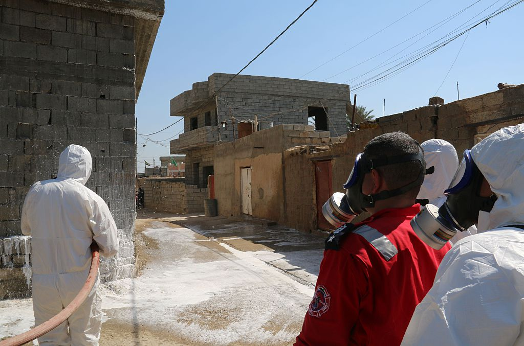 Isis chemical weapons