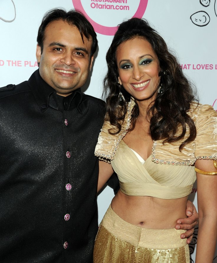 Pankaj Oswal and Radhika Oswal