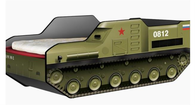 Russian Buk bed for children