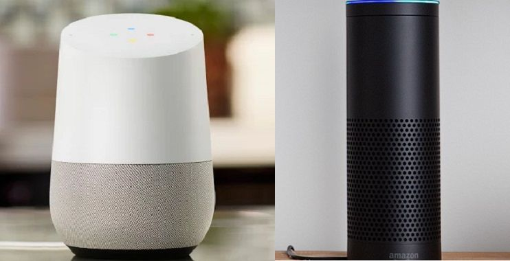 google home vs amazon echo what 39 s the difference and which one should you buy. Black Bedroom Furniture Sets. Home Design Ideas