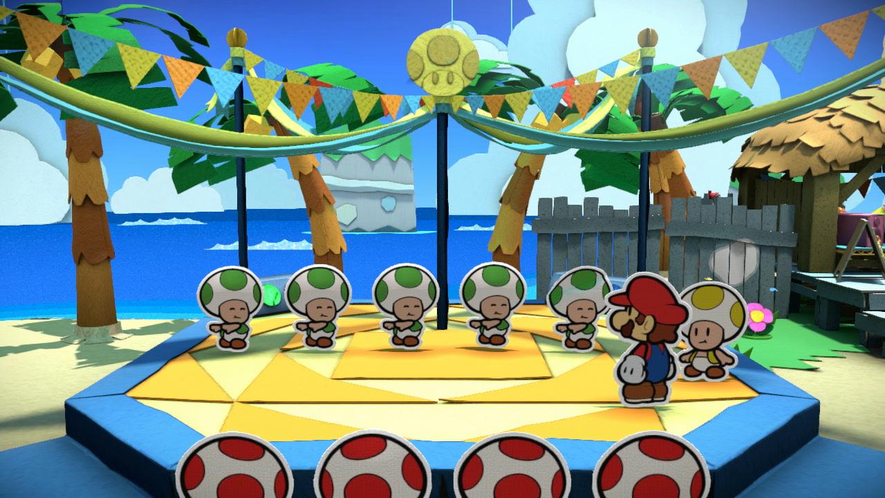 Paper Mario Color Splash Review For Nintendo Wii U