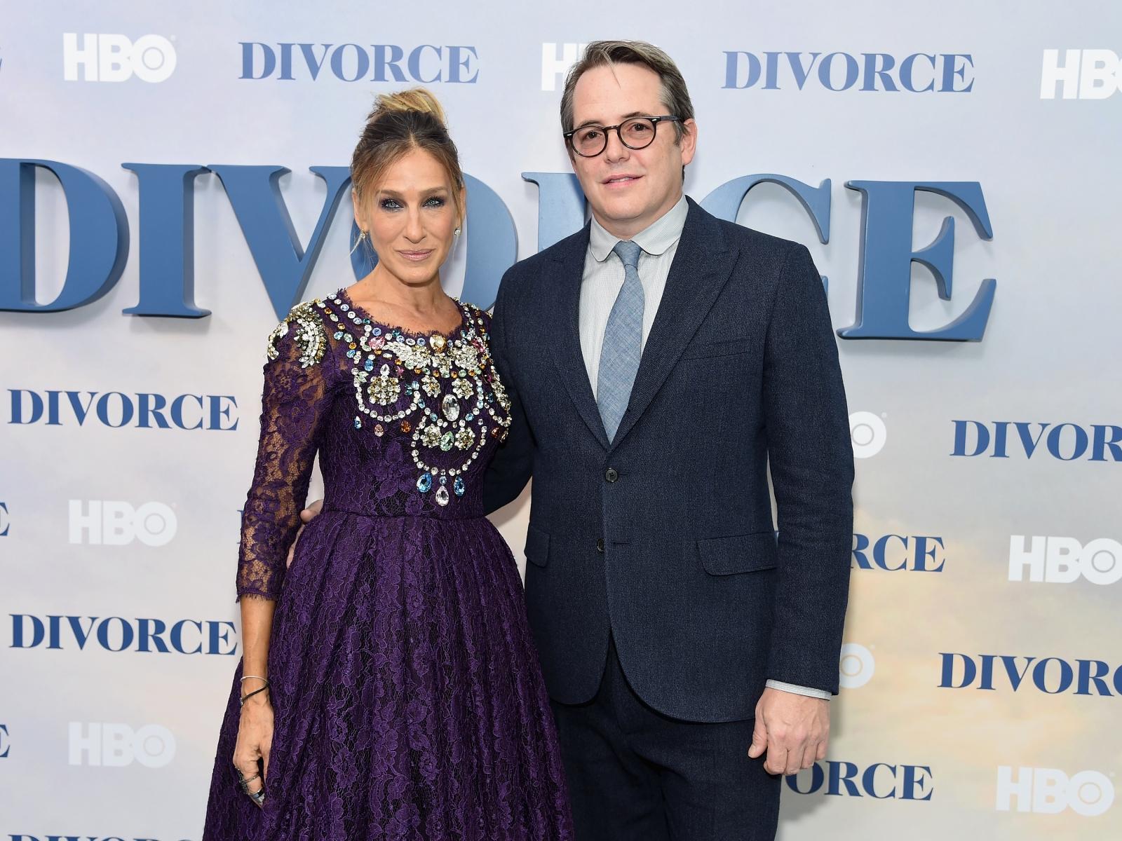 Sarah Jessica Parker and Matthew Broderick: Couple spills ...