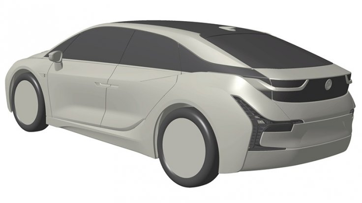 BMW i4 electric hatchback patent
