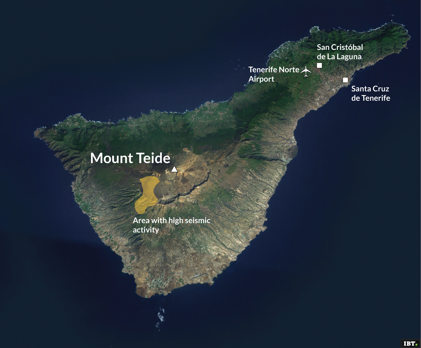 Volcanologists fear infamous Tenerife volcano will erupt after 100 earthquakes are recorded