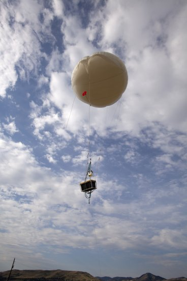 A weather balloon