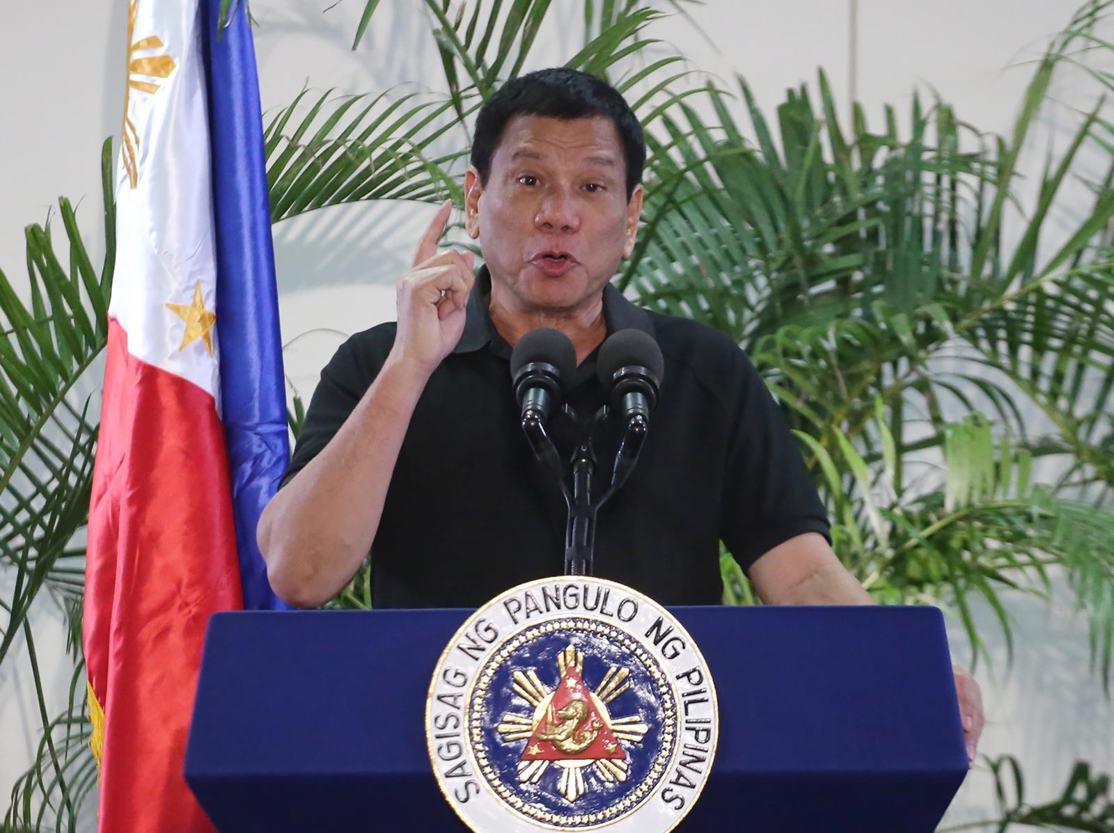 Duterte performance rating