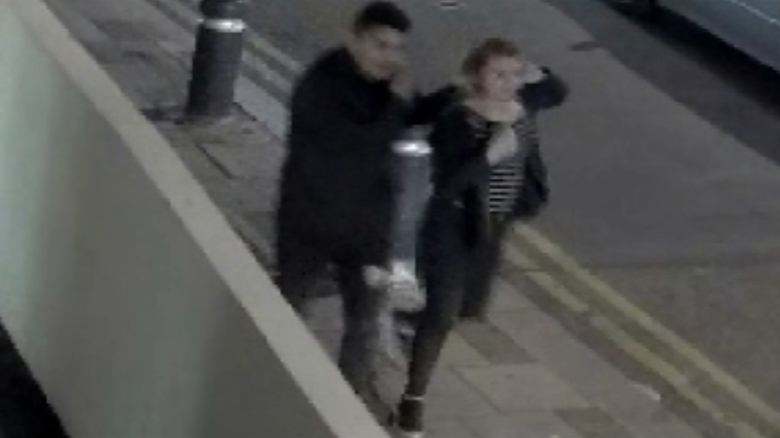 Police appeal after man seen manhandling