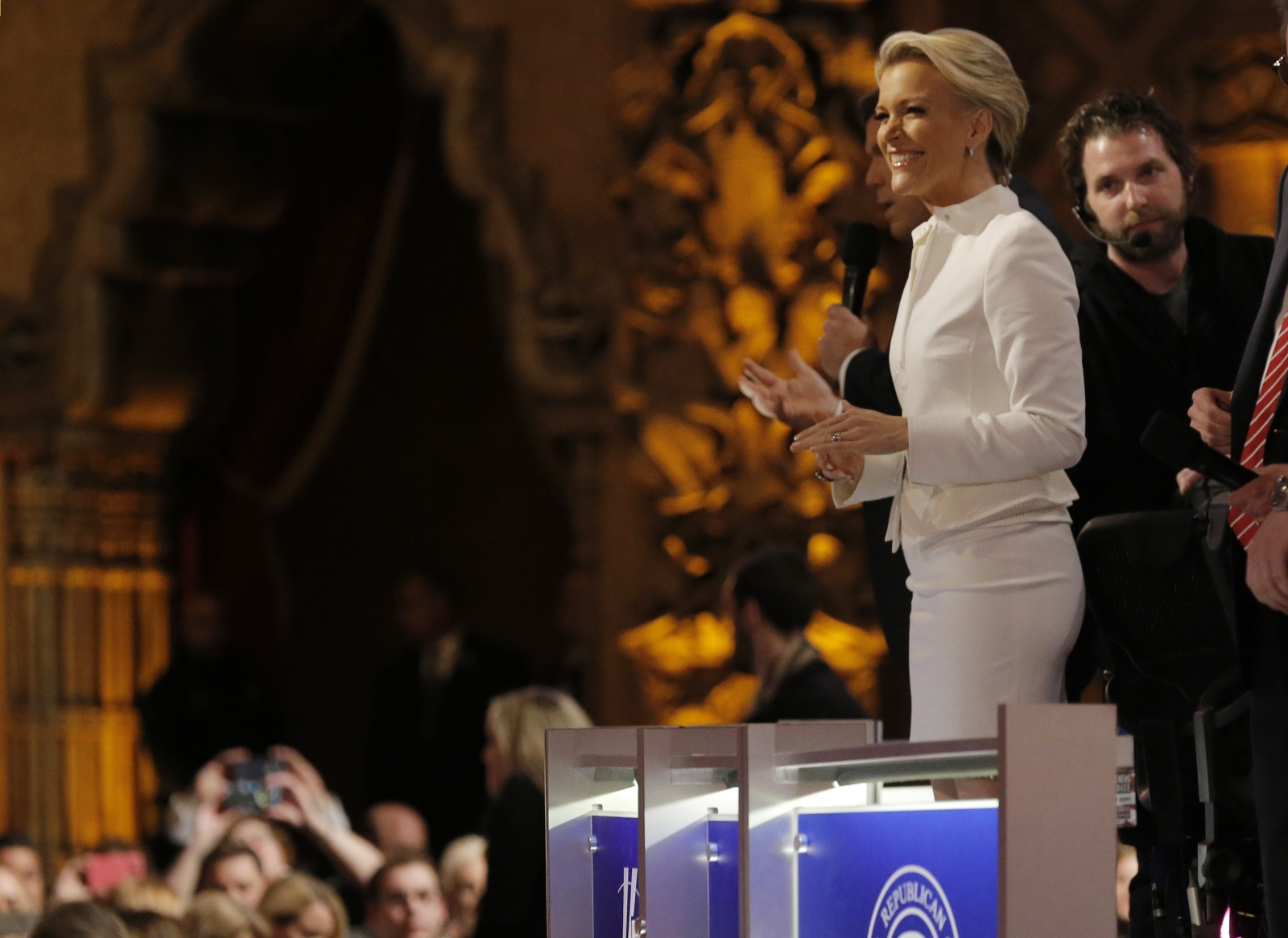 Megyn Kelly at Republican candidate debate