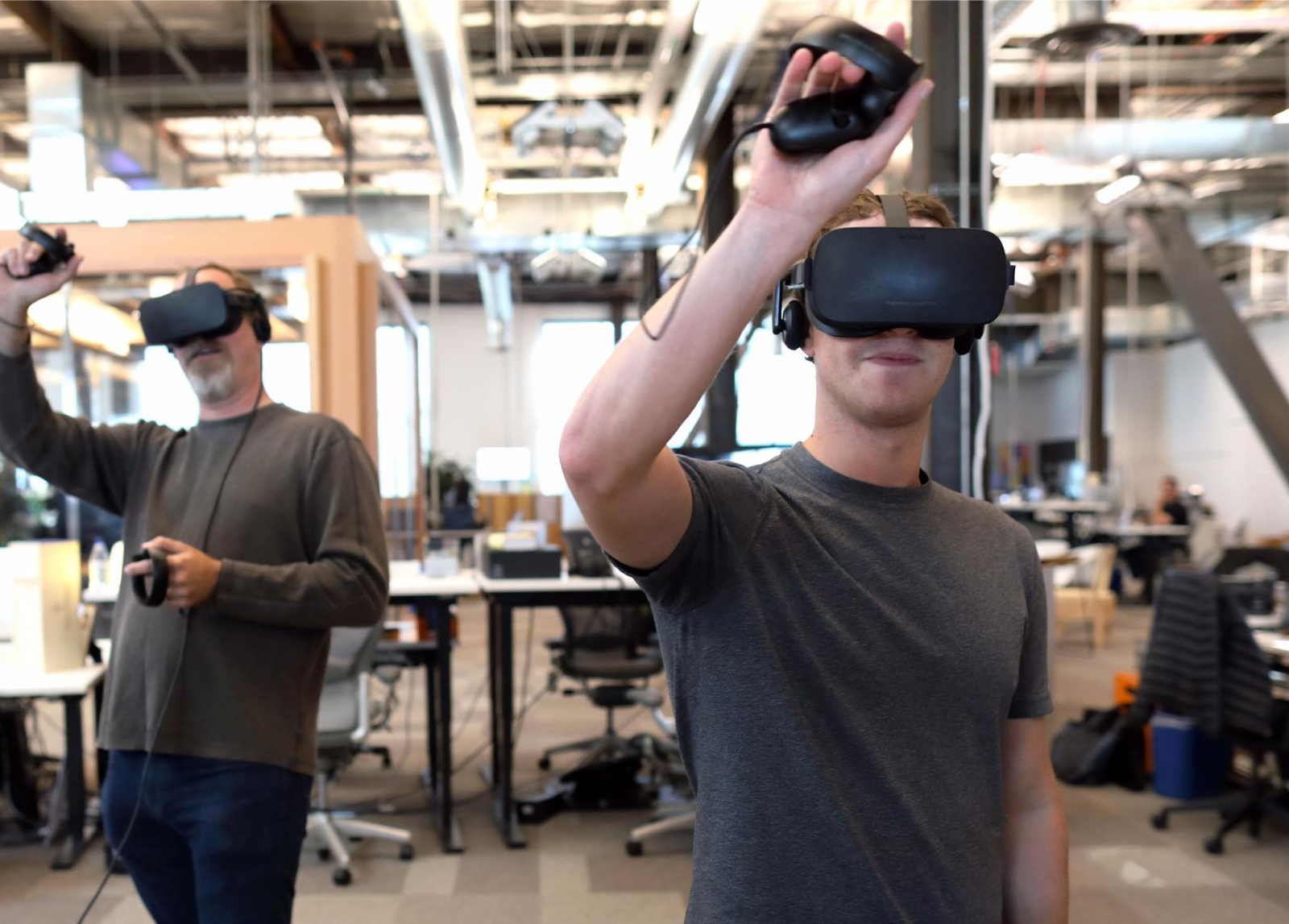 Facebook Oculus livestream