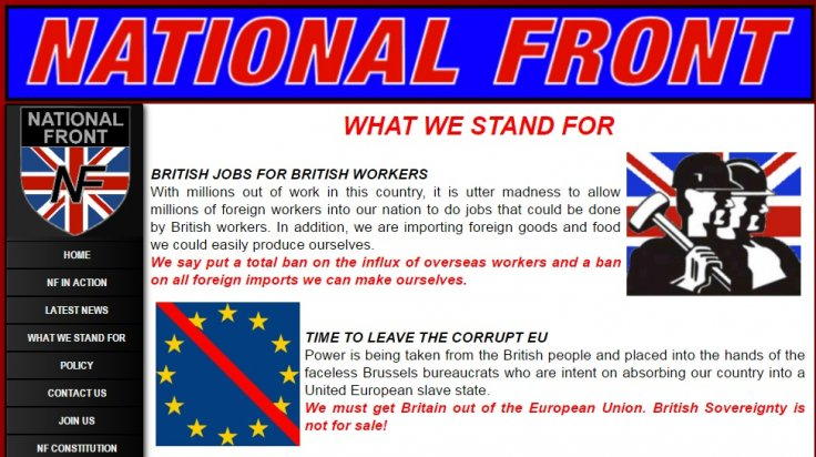National Front website