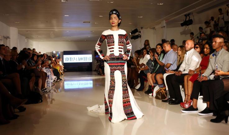 Reshma at New York Fashion Week