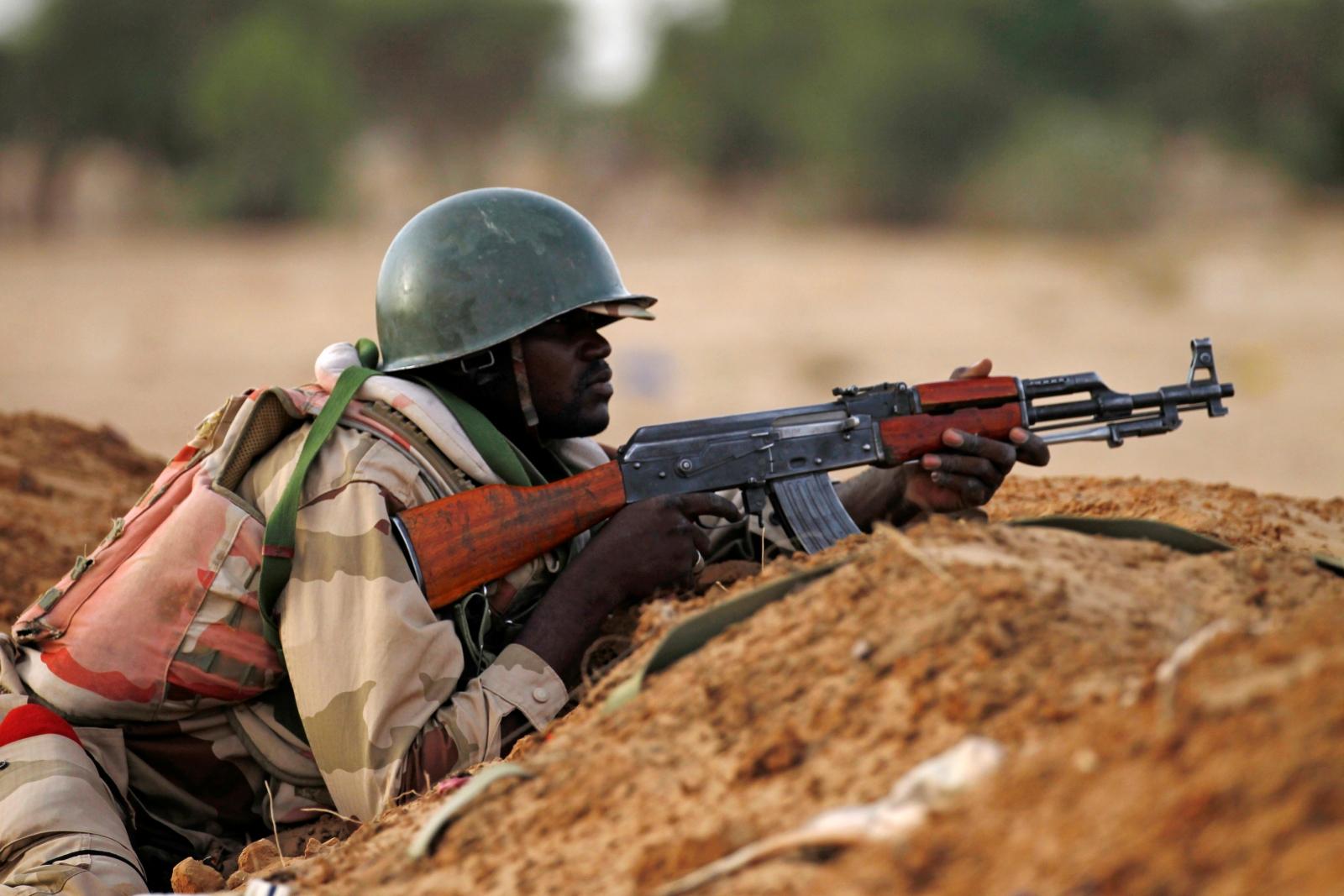 Nigerien soldier