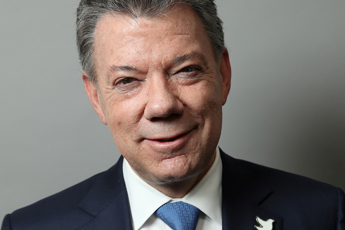 Colombian President Santos to donate Nobel Peace Prize money to all ...