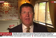 Ukip MEP Mike Hookem explains 'Scuffle' with Steven Woolfe as 'handbags at dawn, girl on girl'