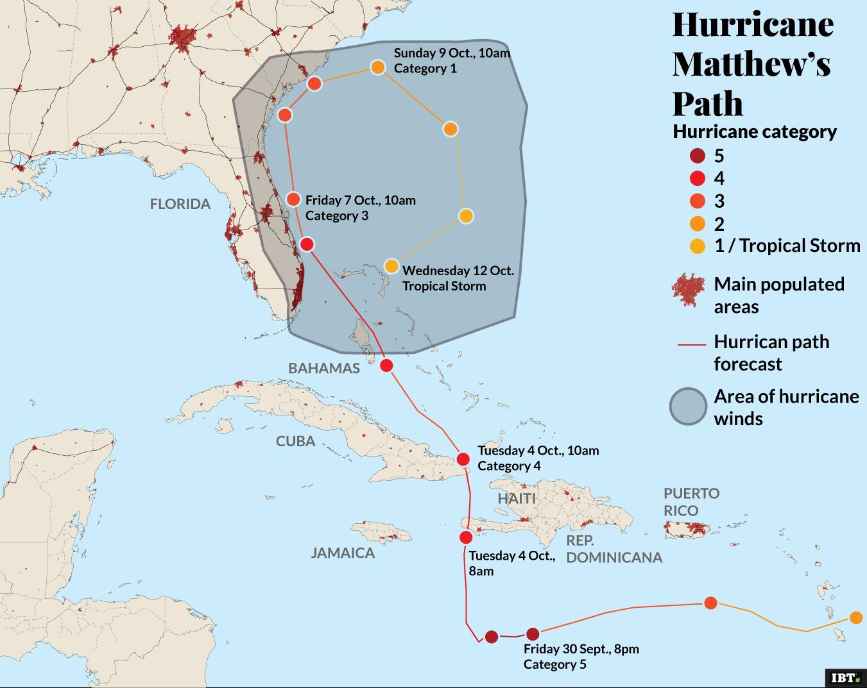 Hurricane Matthew causes 4 deaths in Florida