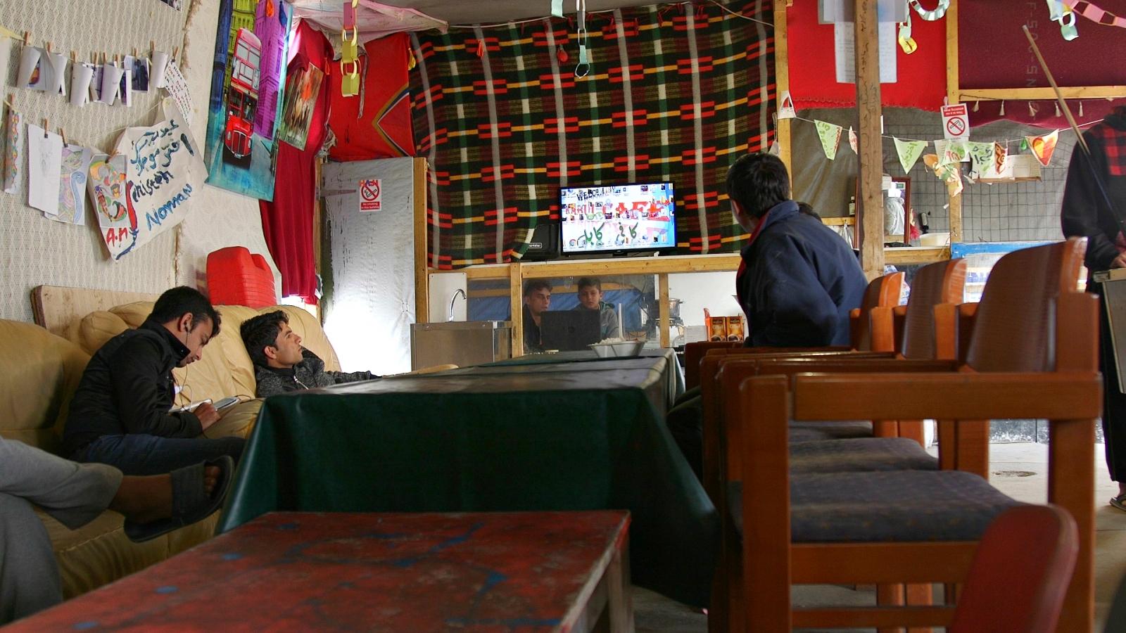 Kids Cafe in Calais camp