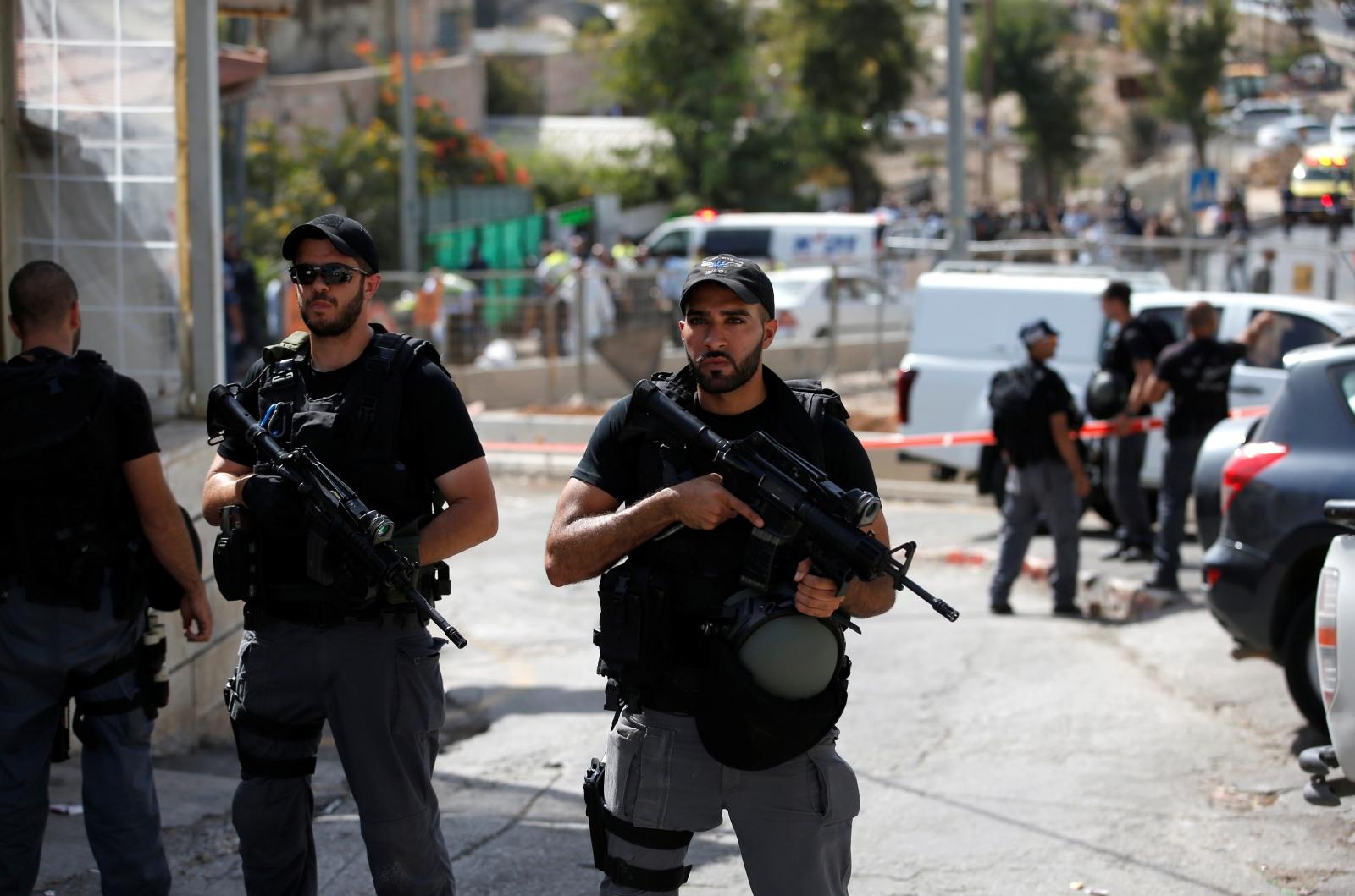 Israeli riot police